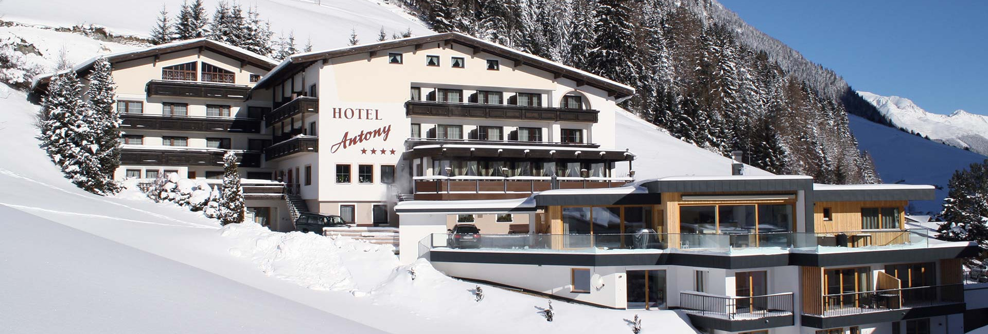 Anfrage Hotel Antony in Ischgl